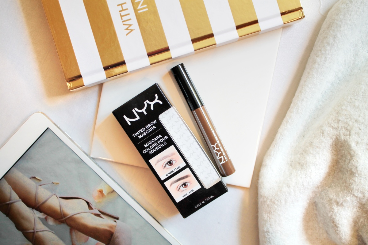 """Product Review: Tinted Brow Mascara by NYX"
